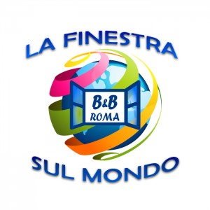 Logo con sfondo lafinestrasulmondo